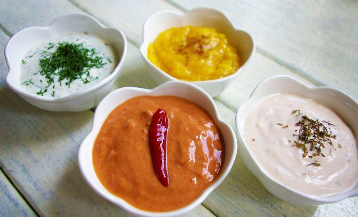 Przepis na sosy i dipy idealne do grilla