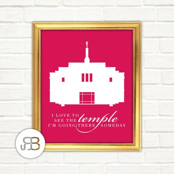 LDS Snowflake Arizona Temple Personalized by RoseBlossomPrints