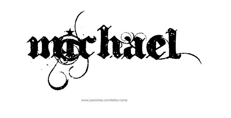 michael name coloring pages - photo#11