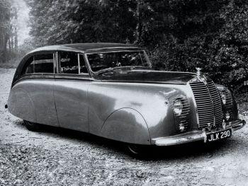 Rolls-Royce Silver Wraith Sedanca de Ville by Hooper (#9278) '1947