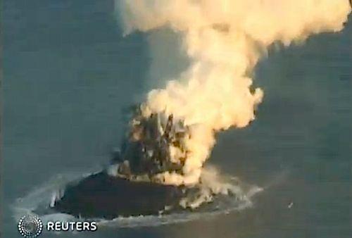 Birth Of An Island (VIDEO)