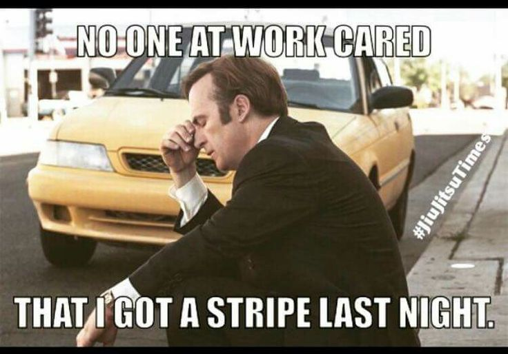 martial arts humor, lol, I don't go to work and if I did I probably wouldn't mention it but I'm getting a stripe today!!!!!!!!! Yippee