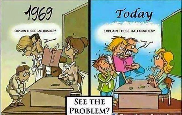Teach by Faith: Parent Teacher Conferences - 1969 vs. Today