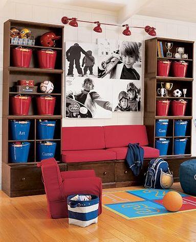 construction decor for boys room | Boy Room Idea: decorating boy room