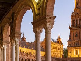 ors, flamenco and Mudejar architecture define Seville, Spain's quixotic city in Andalucia. At the city's heart, Maria Luisa Park sprawls for...