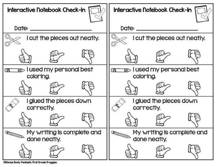 A free self-reflection paper for interactive notebooks.
