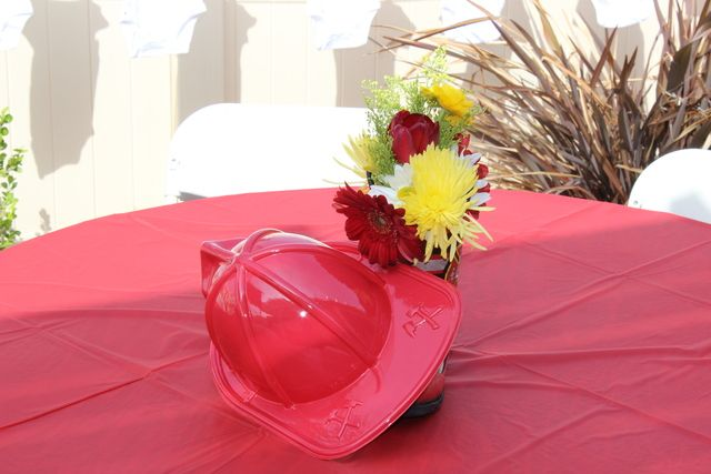 Firefighter Baby Shower | CatchMyParty.com
