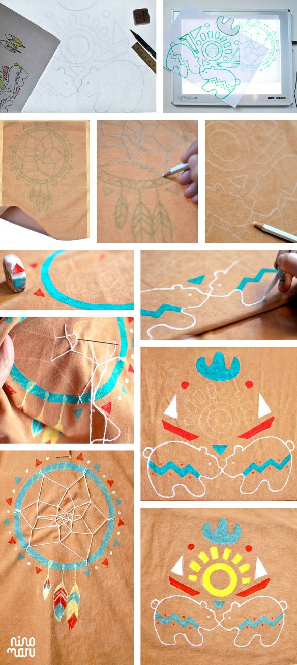 Tutorial Disfraz DIY indios by Ninomaru  Indian Native Costume