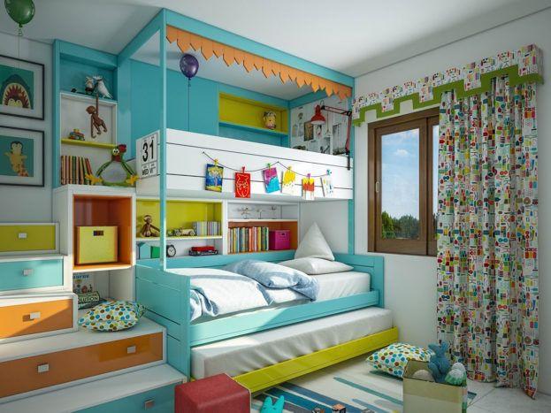 صور ديكورات منازل بسيطة تصميمات عالمية عالم الصور Kids Bedroom Designs Modern Kids Bedroom Cool Kids Bedrooms