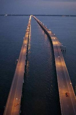 Chesapeake Bay Bridge Tunnel - Getting to the Virginia Eastern Shore