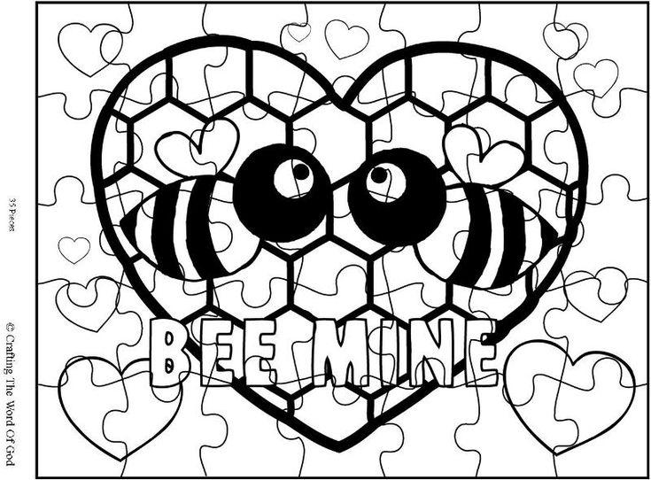 Bee Mine Puzzle- Activity Sheet
