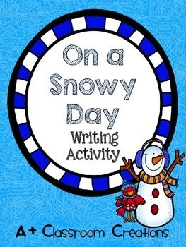 Brrrrr! It's cold outside!   This is a fun winter writing activity for primary grades which can be used during literacy centers, Daily 5 or writer's workshop.   This pack contains a web for students to brainstorm ideas and a graphic organizer help organize a story.