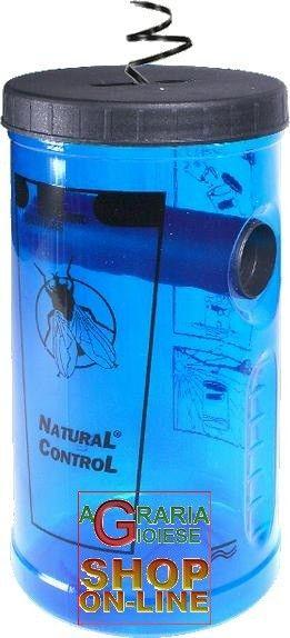 Trappola per mosche Natural Control senza pesticidi riutilizzabile con esca naturale http://www.decariashop.it/trappole-per-topi/16731-trappola-per-mosche-natural-control-senza-pesticidi-riutilizzabile-con-esca-naturale.html