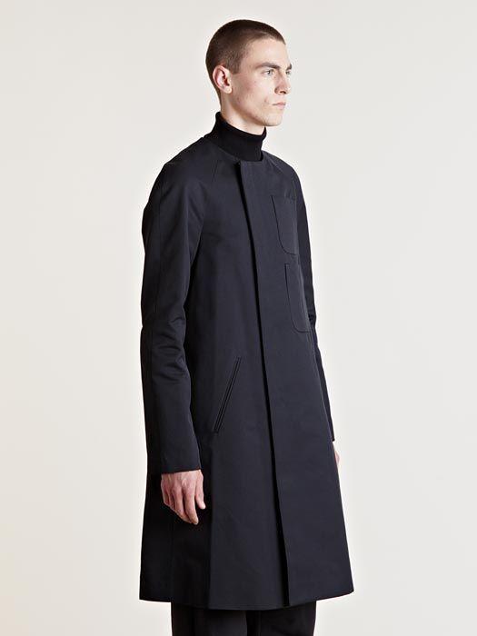 Raf Simons Men's Raglan Sleeved Coat