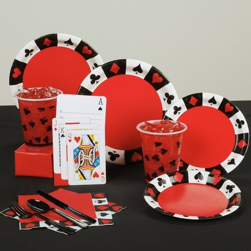 casino night deluxe poker party pack