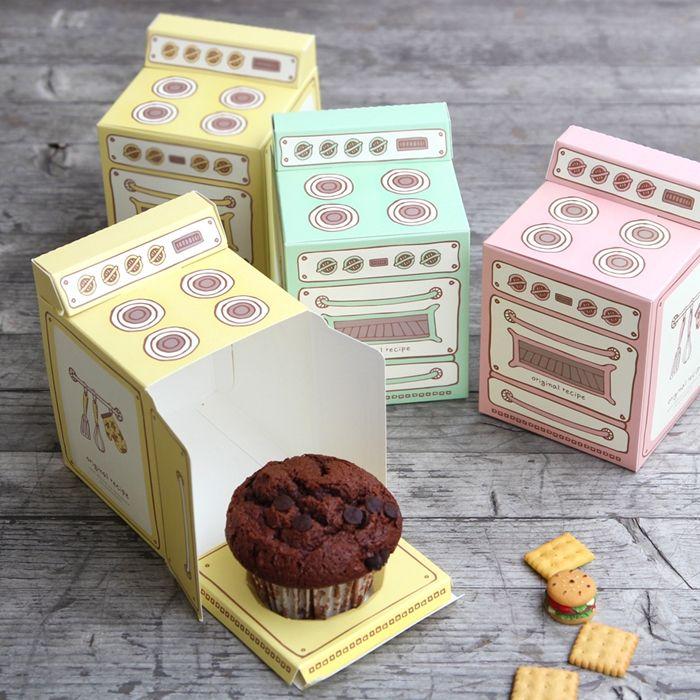 Aliexpress.com: Comprar Rosa Guantes de forma Muffin Caja, Cajas de la magdalena 30 UNIDS/LOTE de box book fiable proveedores en Especially for you Store