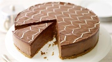 Lorraine Pascale - Chocolate Cheesecake with White Chocolate Icing - LifeStyle FOOD