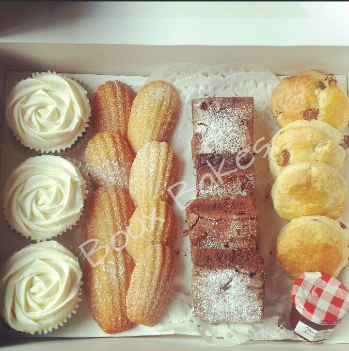 Afternoon Tea inspired cake selection