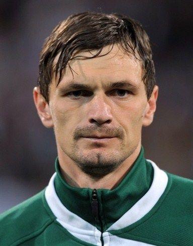 Slovenia's soccer player Milivoje Novakovic
