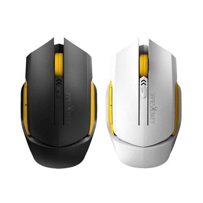 James Donkey Gaming Mouse Wireless 102 2000DPI 6 Buttons Optical LED Backlight #JamesDonkey