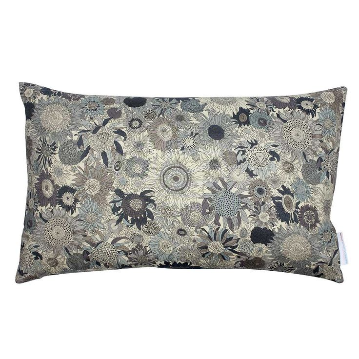 Liberty Cushion Small Susanna Grey 60x40 cm