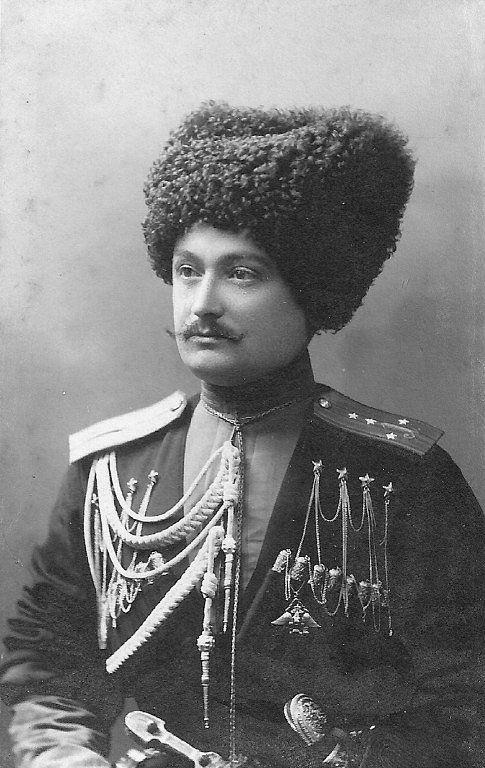Adjutant of 1st Battalion of Kuban Cossacks.