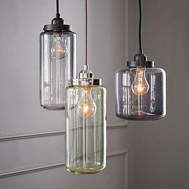 60W E27 Glass Flush Mount Light with 3 Lights – GBP £ 180.95