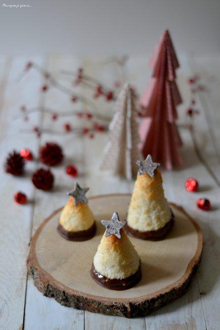 Rochers - sapins à la noix de coco