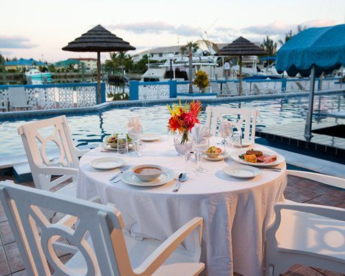 Poolside at the Ocean Reef Resort, Freeport, Bahamas. We have one available