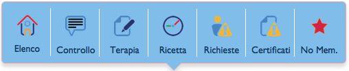 """DoctorOffice3: il menù """"Visite"""""""