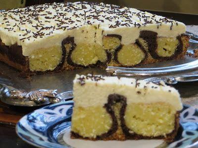 Domowe ciasta i obiady: Ciasto Poranna Rosa