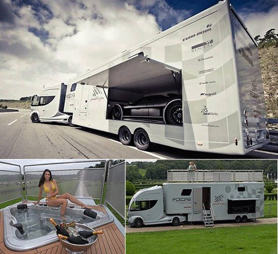 Luxurious Motorhomes Interior | ... 1227 post subject futuria luxury motorhome futuria luxury motorhome