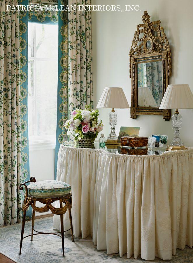 Design Crush: Patricia McLean Interiors. Dressing TablesDressing ...