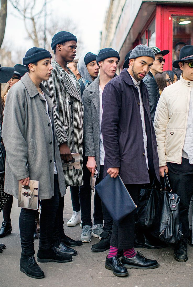 Paris Fashion Week - Menswear Street Style