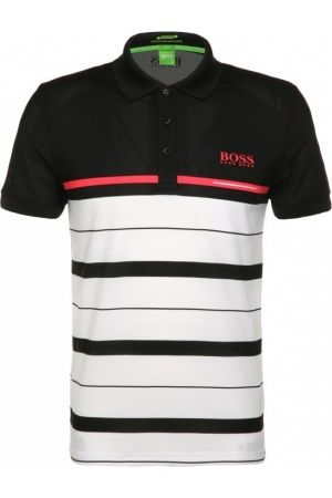 Hombre Polos - HUGO BOSS Polo slim fit en tejido funcional con rayas horizontales: `Paule Pro 1`