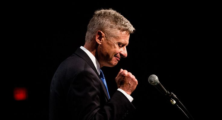 29 May 2016 http://www.politico.com/story/2016/05/libertarians-johnson-weld-trump-gary-william-223703 ...... •Gary Johnson Sides with Bernie Sanders 73% of the Time http://townhall.com/tipsheet/mattvespa/2016/06/03/gary-johnson-i-agree-with-73-percent-of-what-sanders-says-you-know-n2172078