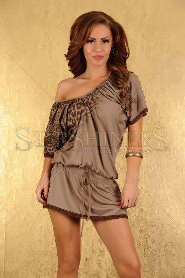 Rochie My77 Wild Secret Brown