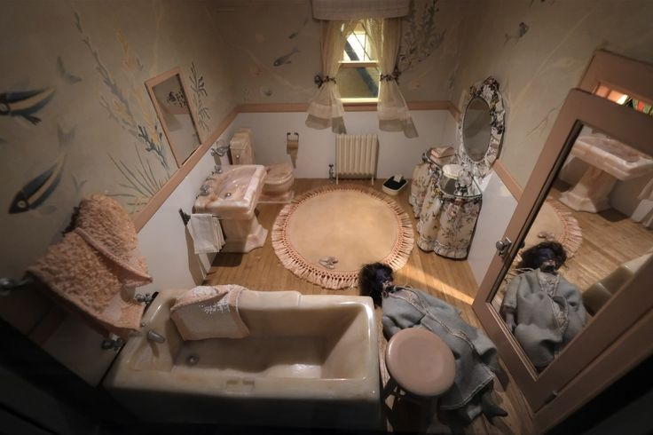 Peek inside tiny dioramas of murder scenes that were used to train detectives - The Washington Post