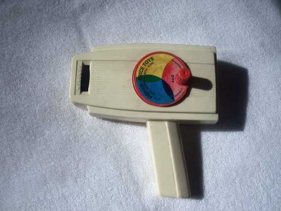 1973 Fisher Price Movie Viewer, Vintage Toy, Vintage Fisher Price Toy, 1970s toys