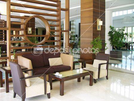 Modern Hotel Lobby U2014 Stock Photo
