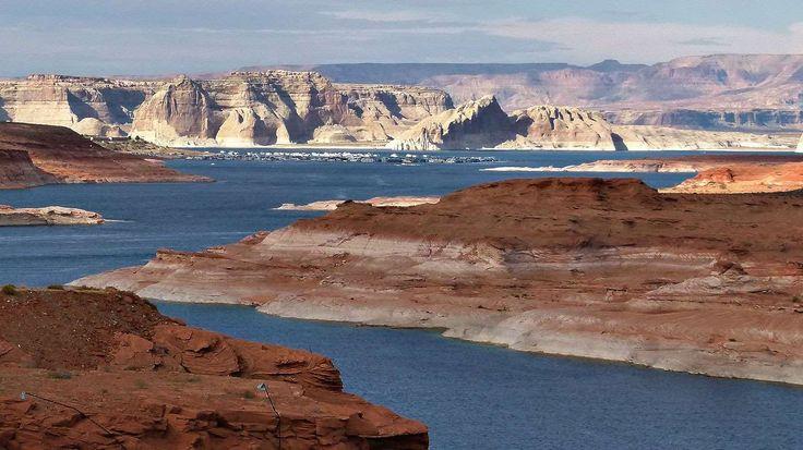 Le lac Powell est né au début des années 1960 grâce à la construction du barrage de Glen Canyon sur ... - Photo Pixabay