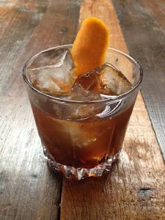... rum, walnut liqueur, Cynar, house chocolate stout liqueur) - Oldfields