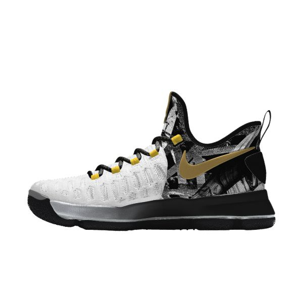 kd 9 id white gold black � Basketball SneakersNike ...