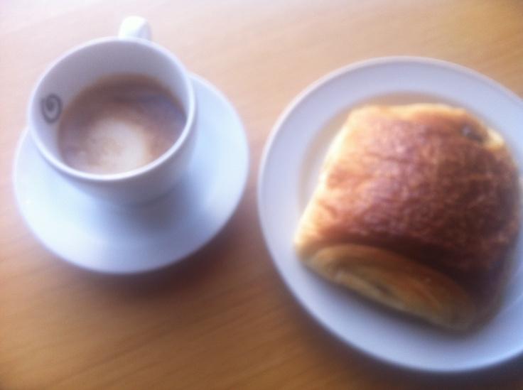 Kaffepause.