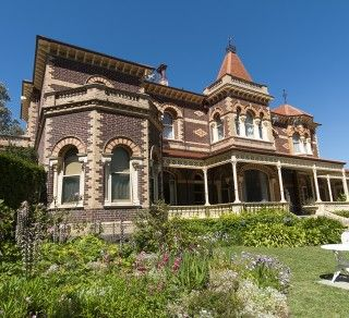 Rippon Lea House and Gardens, Melbourne,Australia