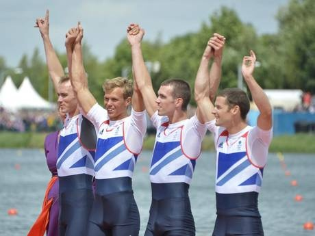 Team GB's lightweight men's four pipped into silver medal position as South Africa claim first ever rowing gold
