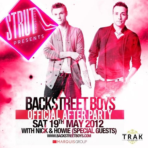 Backstreet Boys Offical After Party -  Saturday 19th May