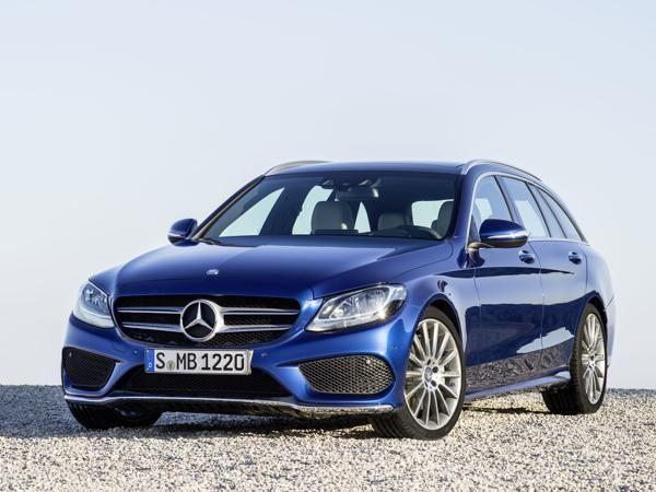 #Mercedes unveils new C-Class #Estate