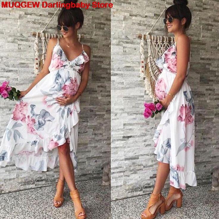 Cheap Vestidos de maternidad ropa de maternidad, vestido de embarazo, embarazada…