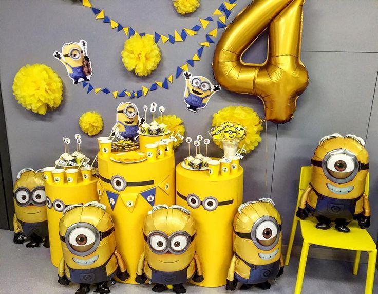 «Самый позитивный!Самый желтый! Самый банановый Кенди бар в стиле Миньонов! Хочешь такой же? Наши мастера готовы воплотить ваши самые смелые мечты…»